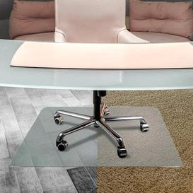 image-Cleartex Ultimat Anti-Slip Polycarbonate Chair Mat for Hard Floor Floortex Size: 119cm x 89cm
