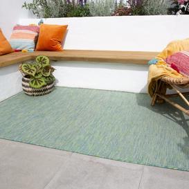 image-Green Mottled Indoor  Outdoor Rug - Patio