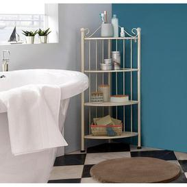 image-Nederland 40 x 90cm Bathroom Shelf Brambly Cottage Finish: White