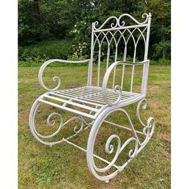 image-Cream Garden Rocking Chair Seat