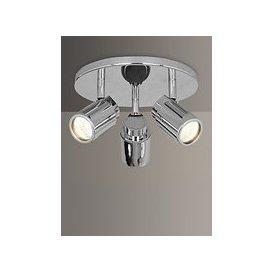 image-Astro Como 3 Bathroom Spotlight Ceiling Plate