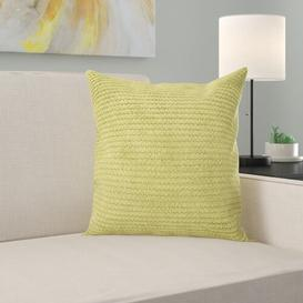 image-Altman Scatter Cushion Ebern Designs Size: Medium, Colour: Lime
