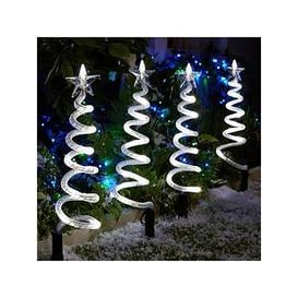 image-Curly Pathfinders Outdoor Christmas Decorations (4 Pack)