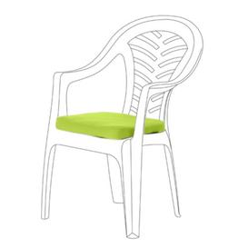 image-Resol Palma Garden Dining Chair Cushion Dakota Fields Colour: Lime