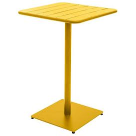 image-Yasser Steel Bar Table Sol 72 Outdoor Colour: Mustard