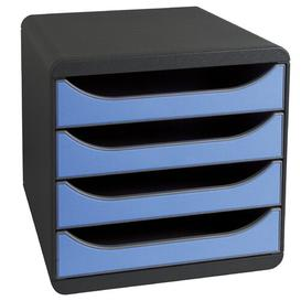 image-Element Desk Organiser Ebern Designs Colour: Black/Ice Blue