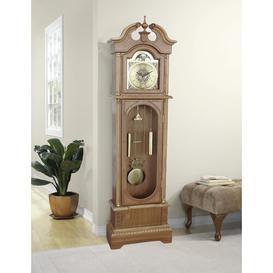 image-182cm Grandfather Clock Astoria Grand Finish: Mission Oak