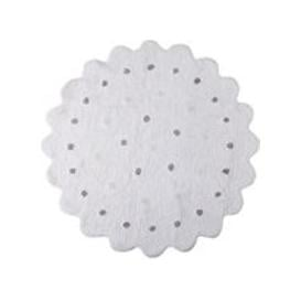 image-Lorena Canals Round Little Biscuit Washable Rug - Soft Pink