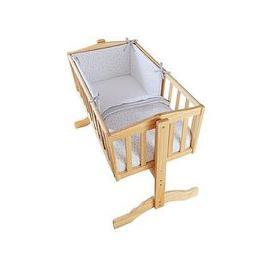 image-Clair De Lune Stars &Amp Stripes Crib Bedding Set