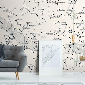 image-Polaire Wall Mural (colour: Vintage White, size: Large (450w x 300h))