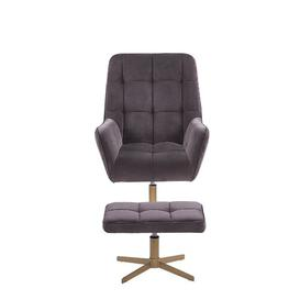 image-Jadyn Swivel Lounge Chair and Footstool Fairmont Park