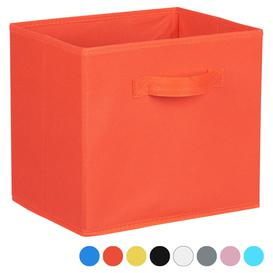 image-Hartleys Fabric Storage Box for 2, 3 & 4 Tier Cube Units - Red
