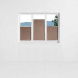 image-Affoux Pleated Blind Symple Stuff Size: 70cm x 130cm, Colour: Biscuit