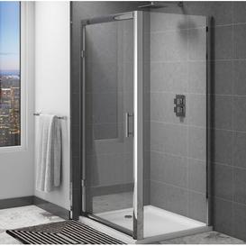 image-Marie 6mm Glass Fixed Shower Screen