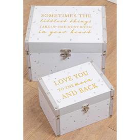 image-Bambino Set of 2 Storage Boxes