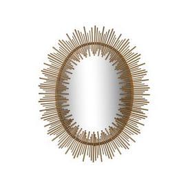 image-Orlando Gold Sunburst Mirror - 86cm x 107cm