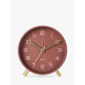 image-Karlsson Lofty Metal Analogue Alarm Clock
