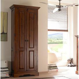 image-Catana 2 Door Wardrobe Massivum Colour: Brown