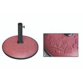 image-Darlene Cement Cast Iron Free Standing Umbrella Base Freeport Park Colour: Brown