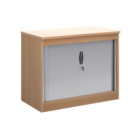 image-Multi Storage Tambour Cupboards, 102wx55dx80h (cm), Beech
