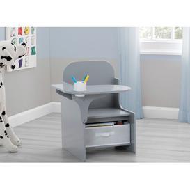 image-Mysize 51cm W Art Desk Delta Children Colour: Grey