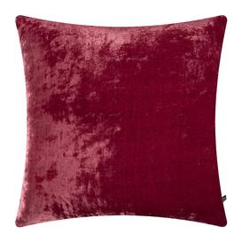 image-William Yeoward - Paddy Velvet Cushion - 50x50cm - Raspberry