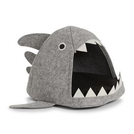 image-Shark Cat Bed Archie & Oscar Colour: Grey