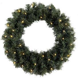 image-44cm Lighted Fir Ottawa Christmas Wreath Best Season
