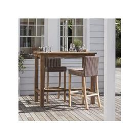 image-Garden Trading St Mawes Bar Table and Stools Set