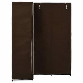 image-3 Door Corner Wardrobe Symple Stuff Colour: Brown