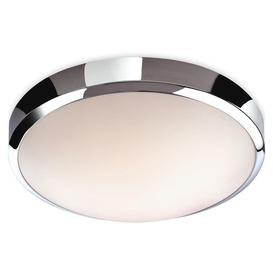 image-Firstlight 2343 Toro LED IP44 Chrome Flush Bathroom Ceiling Light