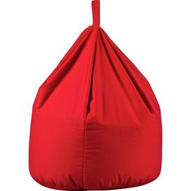 image-Habitat Large Bean Bag - Poppy Red