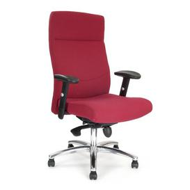 image-Managers Executive Chair Brayden Studio Colour: Wine