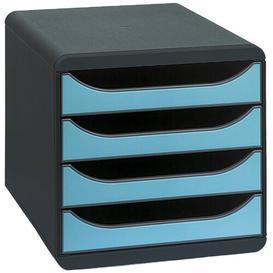 image-Element Desk Organiser Ebern Designs Colour: Black/Turquoise