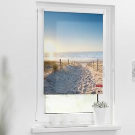 image-Baltic Sea Beach Blackout Roller Blind Beachcrest Home Size: 150 cm L x 120 cm W
