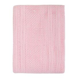 image-Munsey Baby Blanket Symple Stuff Colour: Cream/Pink