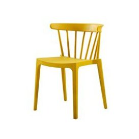 image-Pair of Bliss Outdoor Bar Chairs by Woood - Melon