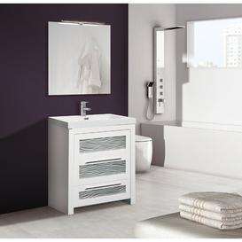 image-Ellie 1200mm Free-standing Single Vanity Unit Belfry Bathroom