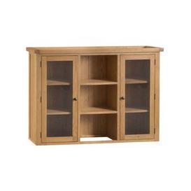 image-Cotswold Oak Home Large Dresser Top Furniture