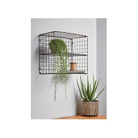 image-Wire Shelf Unit - Square
