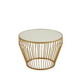image-Premier Housewares Avantis Wide Round Side Table
