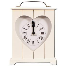 image-Heart Mantle Clock Brambly Cottage