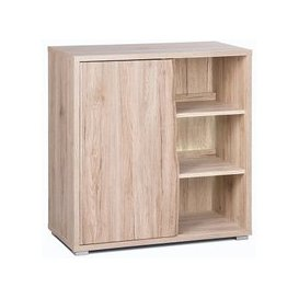 image-Villa Sideboard In Sanremo Oak With 1 Door And LED