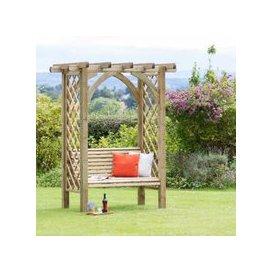 image-Meridian Garden Pergola Seat