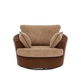 image-Delta Fabric Swivel Chair