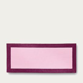 image-Pink Striped Magenta Simple Grand Luxe Beach Towel