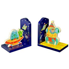 image-Outer Space Bookends Fantasy Fields by Teamson