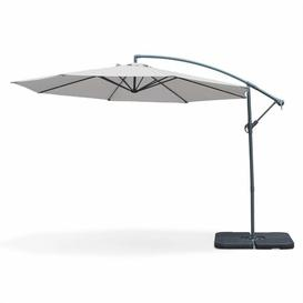 image-Nia 3.5m Cantilever Parasol Freeport Park Colour (Fabric): Light Grey