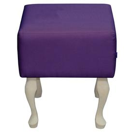 image-French Dressing Table Stool Happy Barok Colour: Violet
