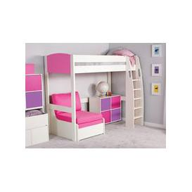 image-Stompa UnoS High Sleeper 10 + Chair Bed + Cube Unit
